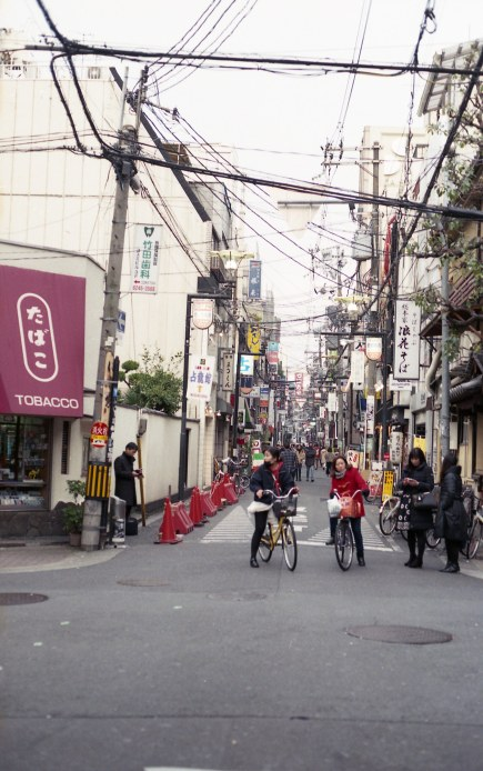 JAPAN Osaka Shitennoji Market FEB2018 Nikon FM2 Fujicolor 100 (Japan Only)-028